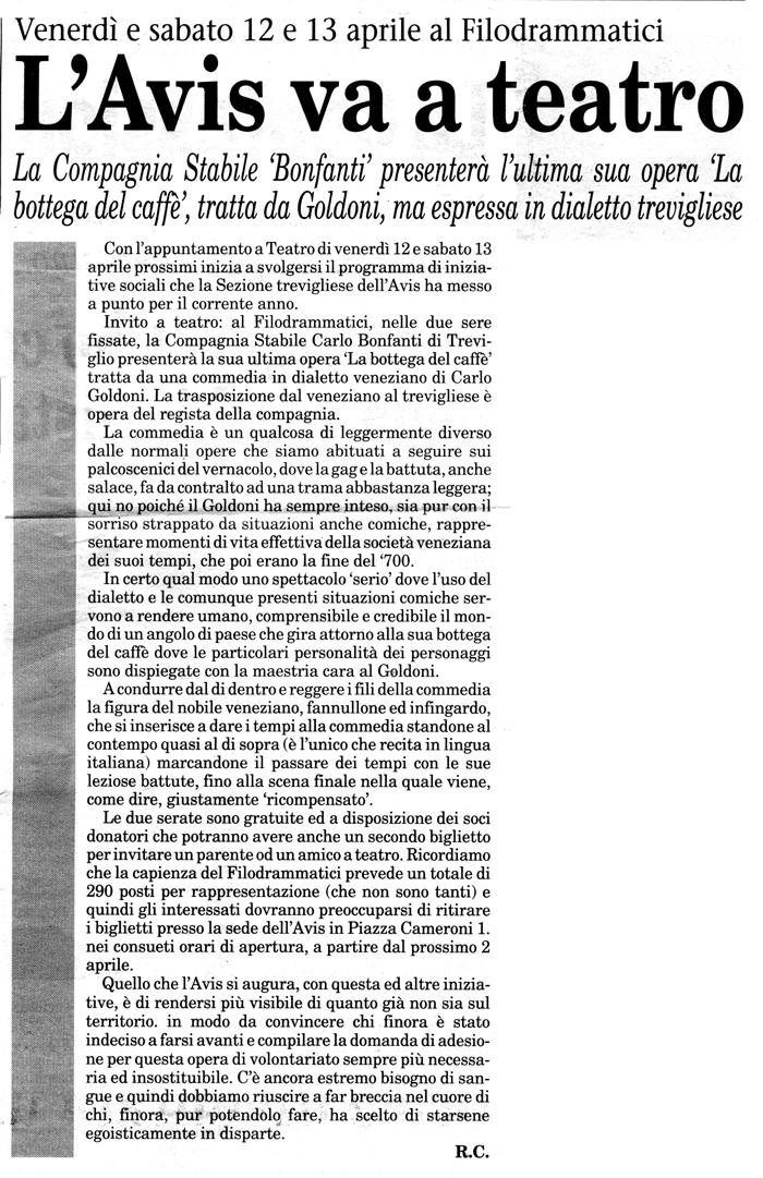 Articolo apparso su Il Popolo Cattolico il 30 marzo 2002