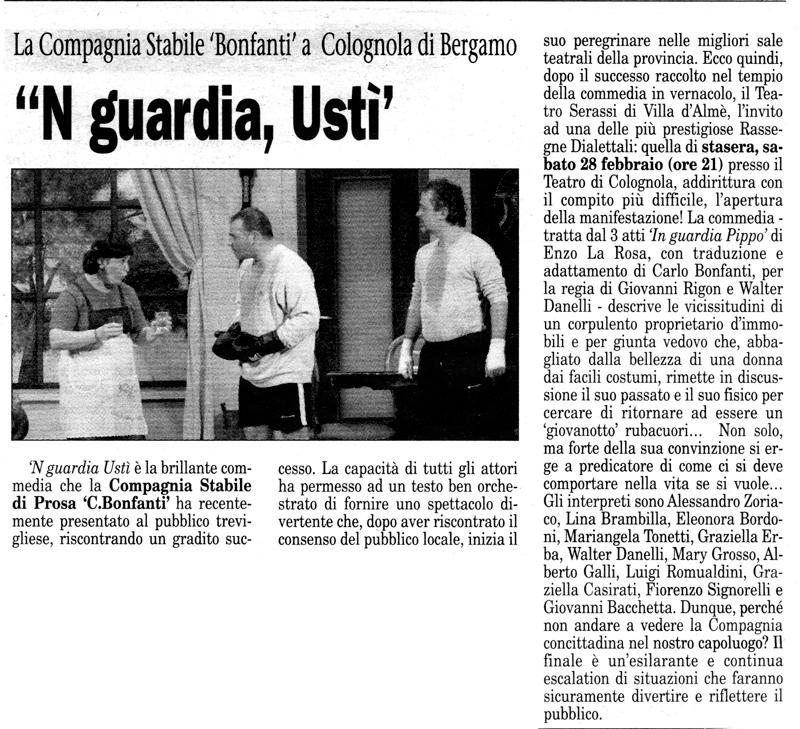 Articolo apparso su Il Popolo Cattolico il 28 febbraio 2004